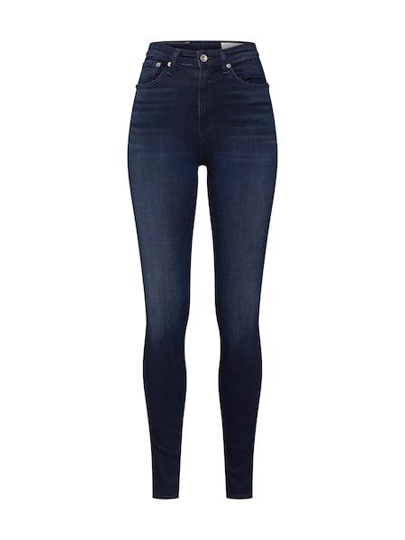 Hosen für Frauen - Jeans 'Nina HR Skinny' › Rag Bone › blue denim  - Onlineshop ABOUT YOU