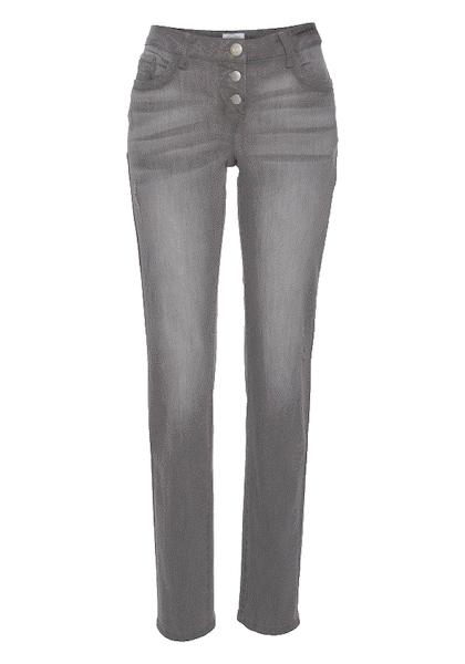Hosen für Frauen - ANISTON Boyfriend Jeans hellgrau  - Onlineshop ABOUT YOU