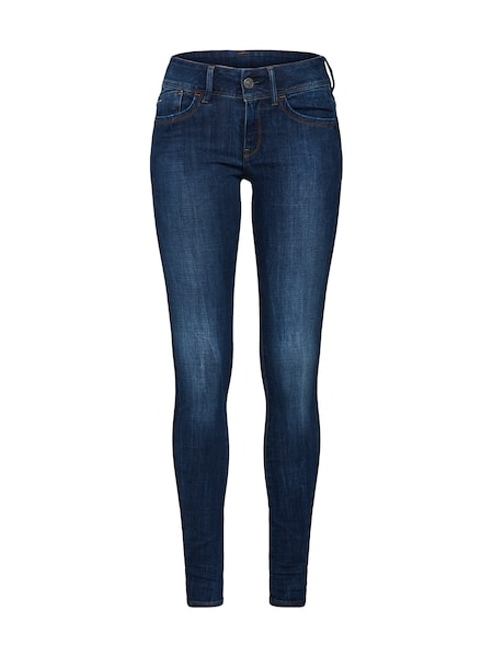 Hosen - Jeans 'Lynn d Mid Super Skinny' › G Star Raw › marine  - Onlineshop ABOUT YOU