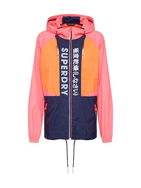 Jacken - Windbreaker › Superdry › navy orange pink  - Onlineshop ABOUT YOU