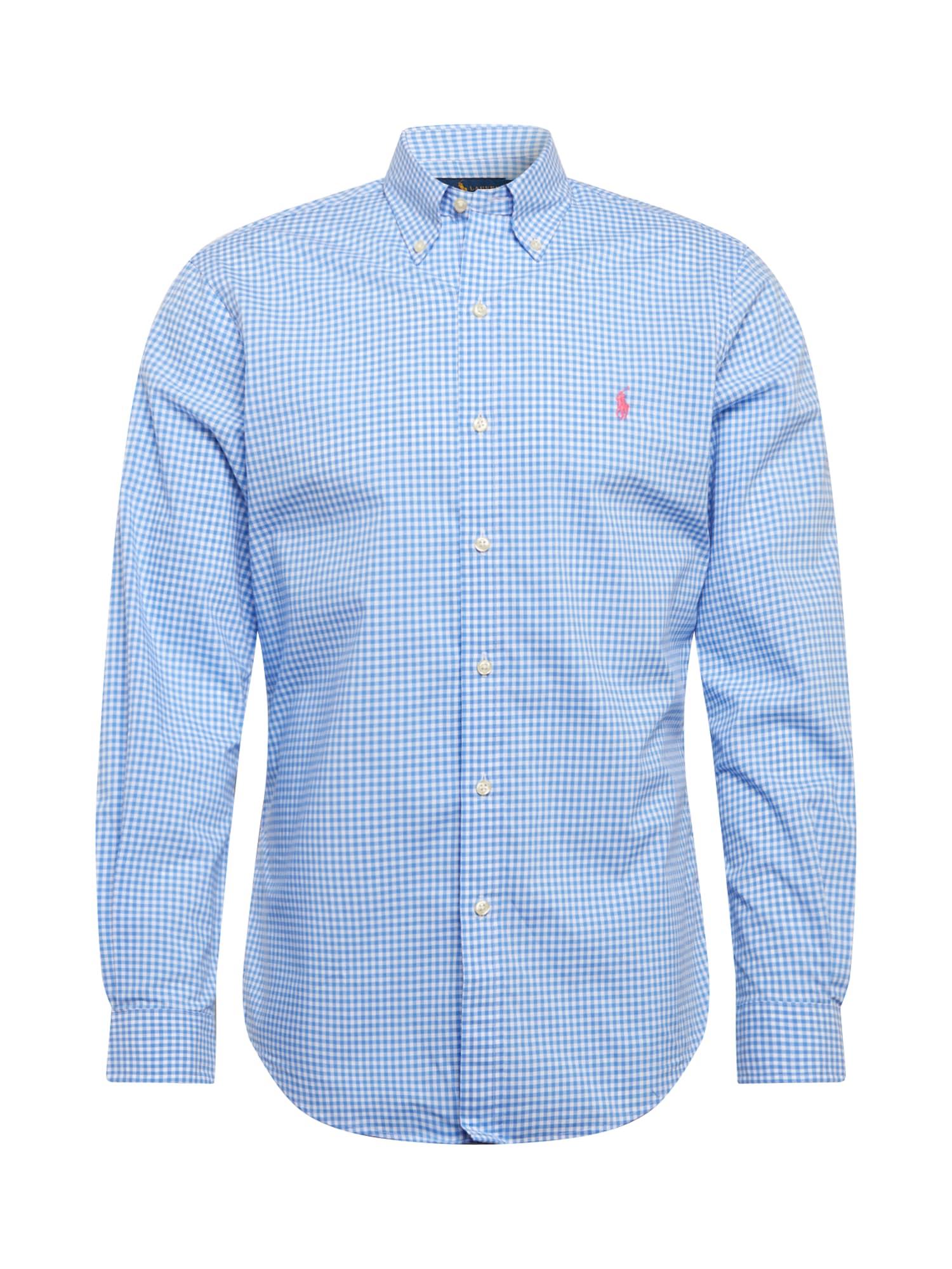 POLO RALPH LAUREN Biznis košeľa  modré