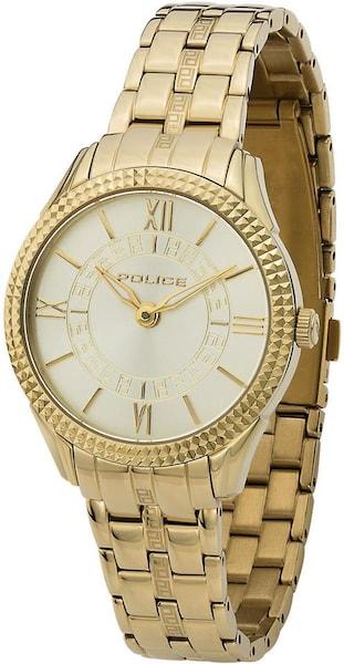 Uhren für Frauen - POLICE Quarzuhr 'MAVIS' gold  - Onlineshop ABOUT YOU