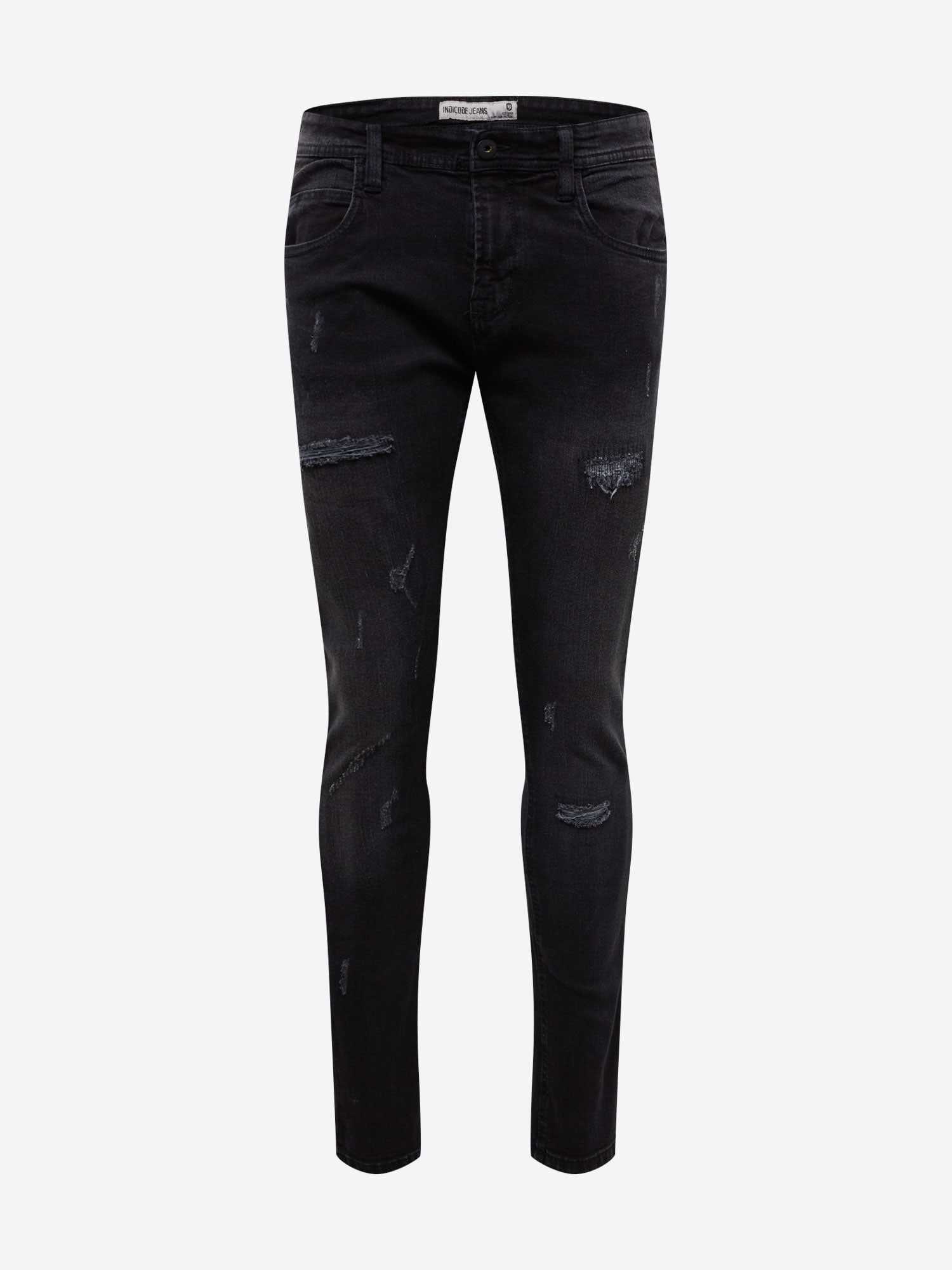 INDICODE JEANS Jeans 'Palmdale'  svart denim