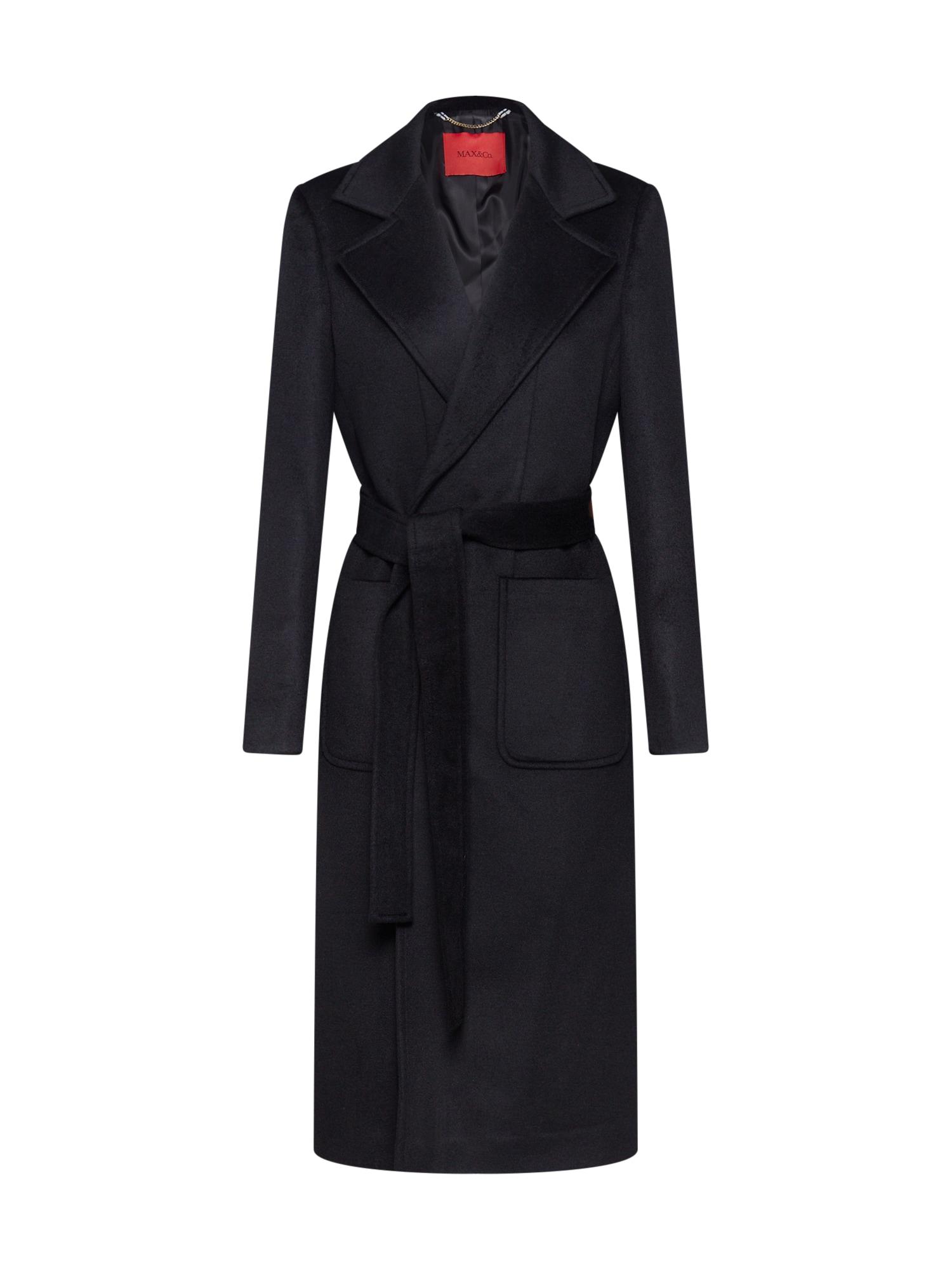MAX&Co. Rudeninis-žieminis paltas 'RUNAWAY' juoda