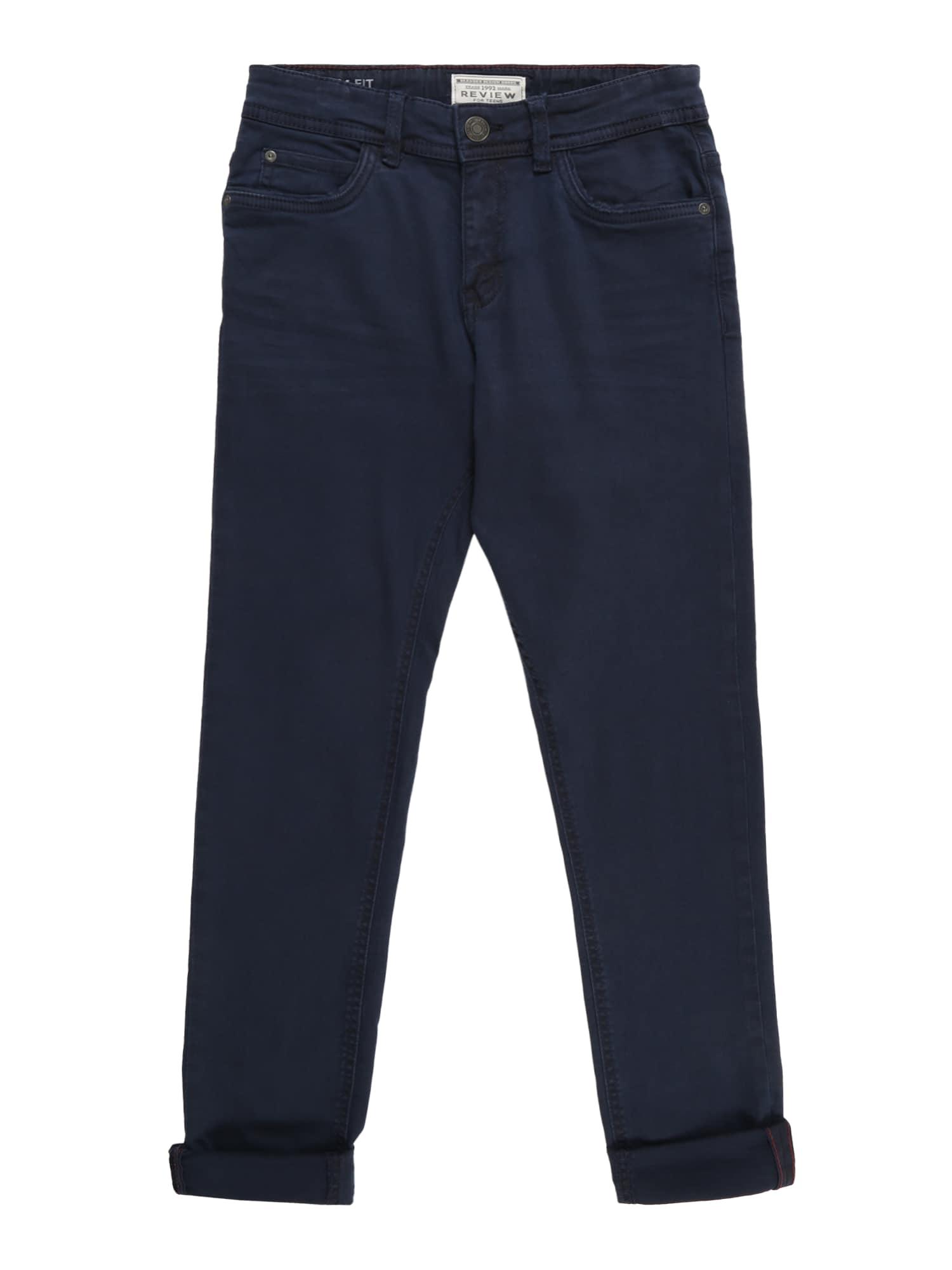 Kalhoty tmavě modrá REVIEW FOR TEENS