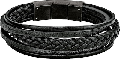 S.Oliver RED LABEL Lederarmband 5-reihig