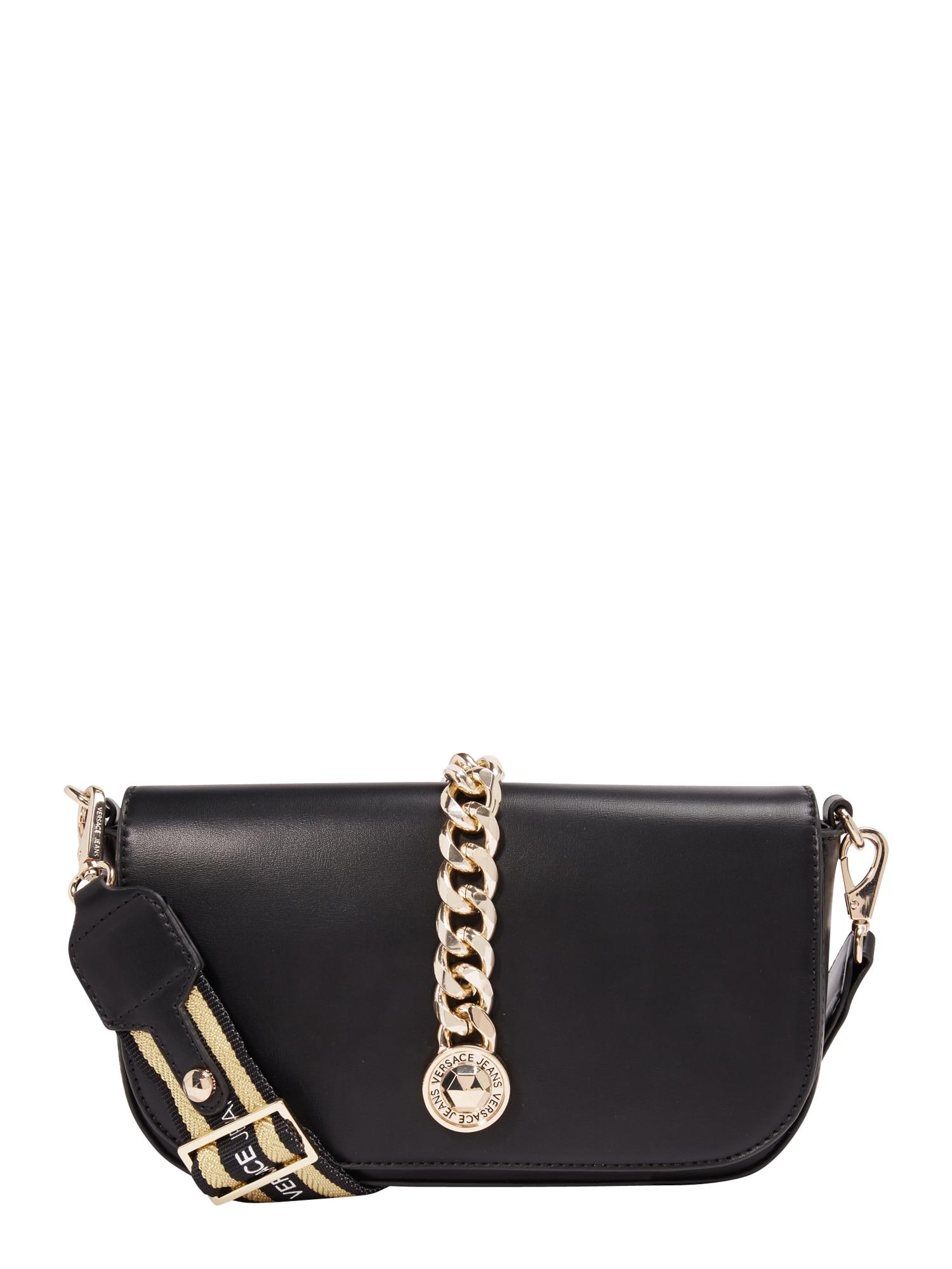 Taška přes rameno černá Versace Jeans