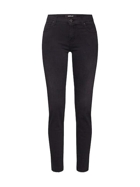 Hosen für Frauen - Jeans 'VIVI' › Replay › black denim  - Onlineshop ABOUT YOU