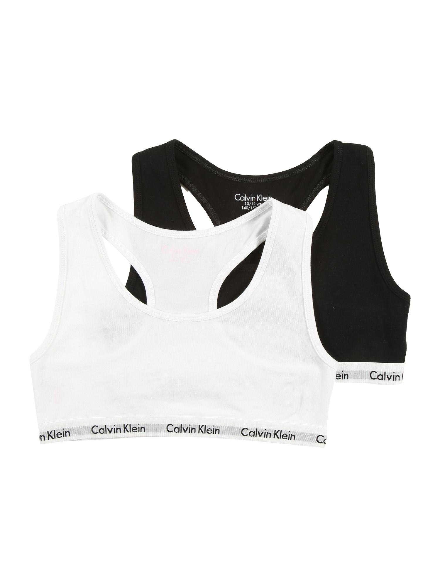 Calvin Klein Underwear Apatinių komplektas juoda / balta
