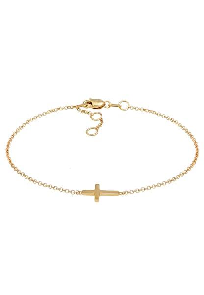 Armbaender - Armband 'Kreuz' › ELLI PREMIUM › gold  - Onlineshop ABOUT YOU