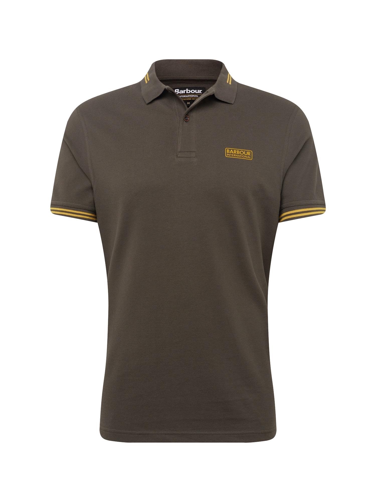Tričko Essential Sports Oli hnědá olivová oranžová Barbour International
