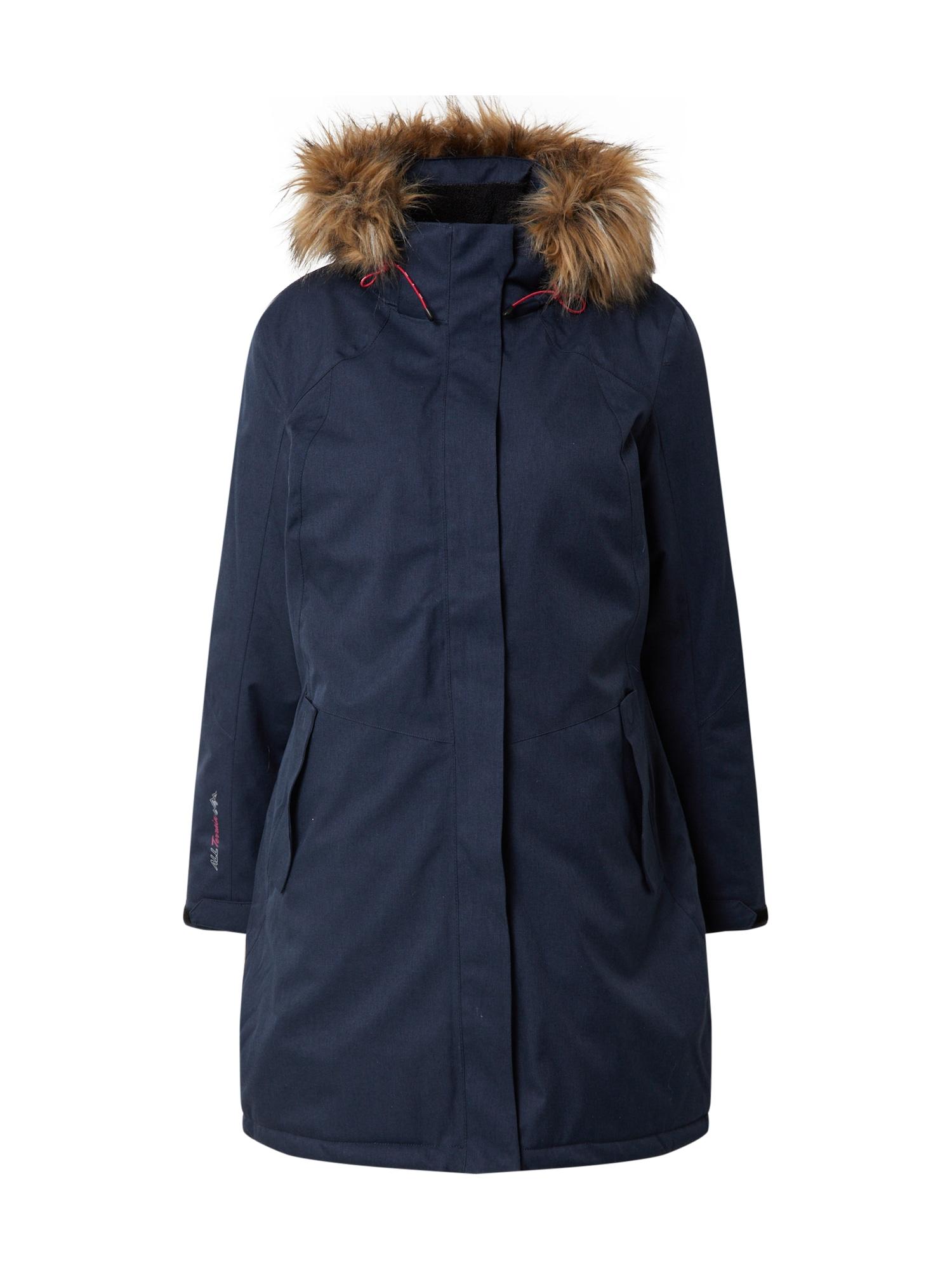 KILLTEC Outdoorový kabát 'Ostfold'  námořnická modř