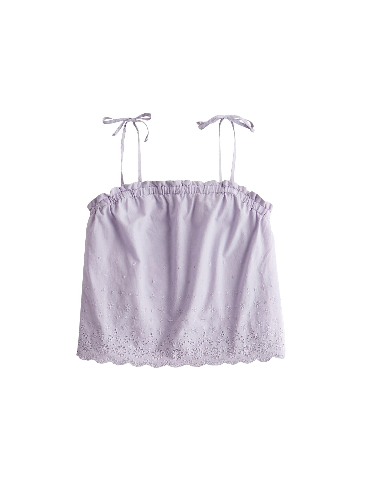 HOLLISTER Apatiniai marškinėliai 'S120-EYELET SLEEP TANK' mėlyna