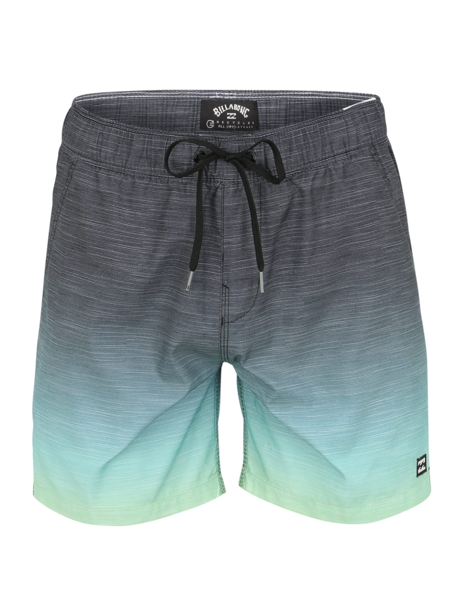 BILLABONG Plavecké šortky 'All Day Faded'  zelená / žlutá / modrá