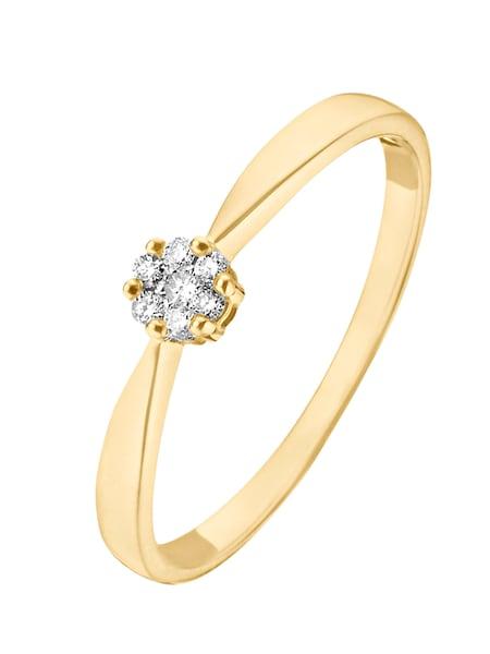 Ringe für Frauen - CHRIST Ring goldgelb silber  - Onlineshop ABOUT YOU