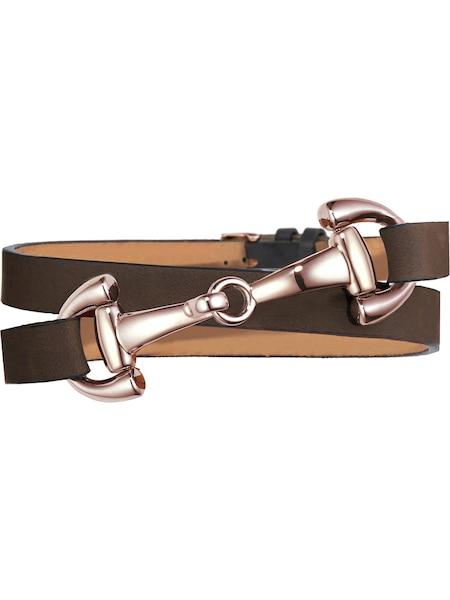 Armbaender für Frauen - Dimacci Armband cognac rosegold  - Onlineshop ABOUT YOU