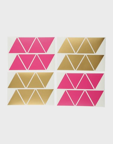 Eulenschnitt wandsticker in gold pink about you - Wandsticker gold ...