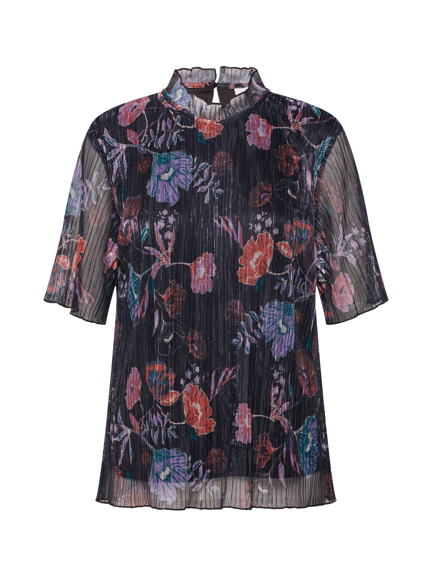 Tričko Jasmine mix barev černá VILA