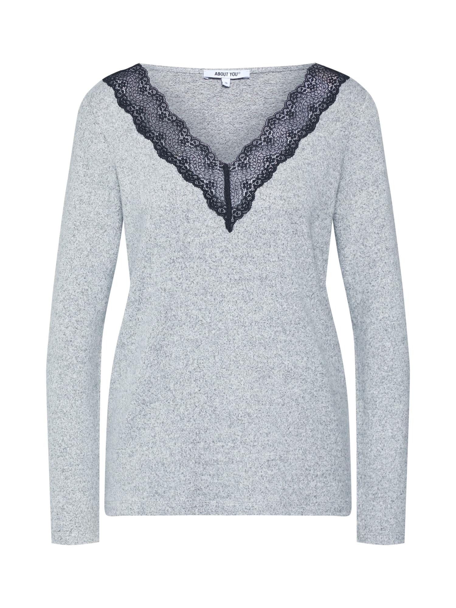 ABOUT YOU Megztinis 'Gabriele' margai pilka
