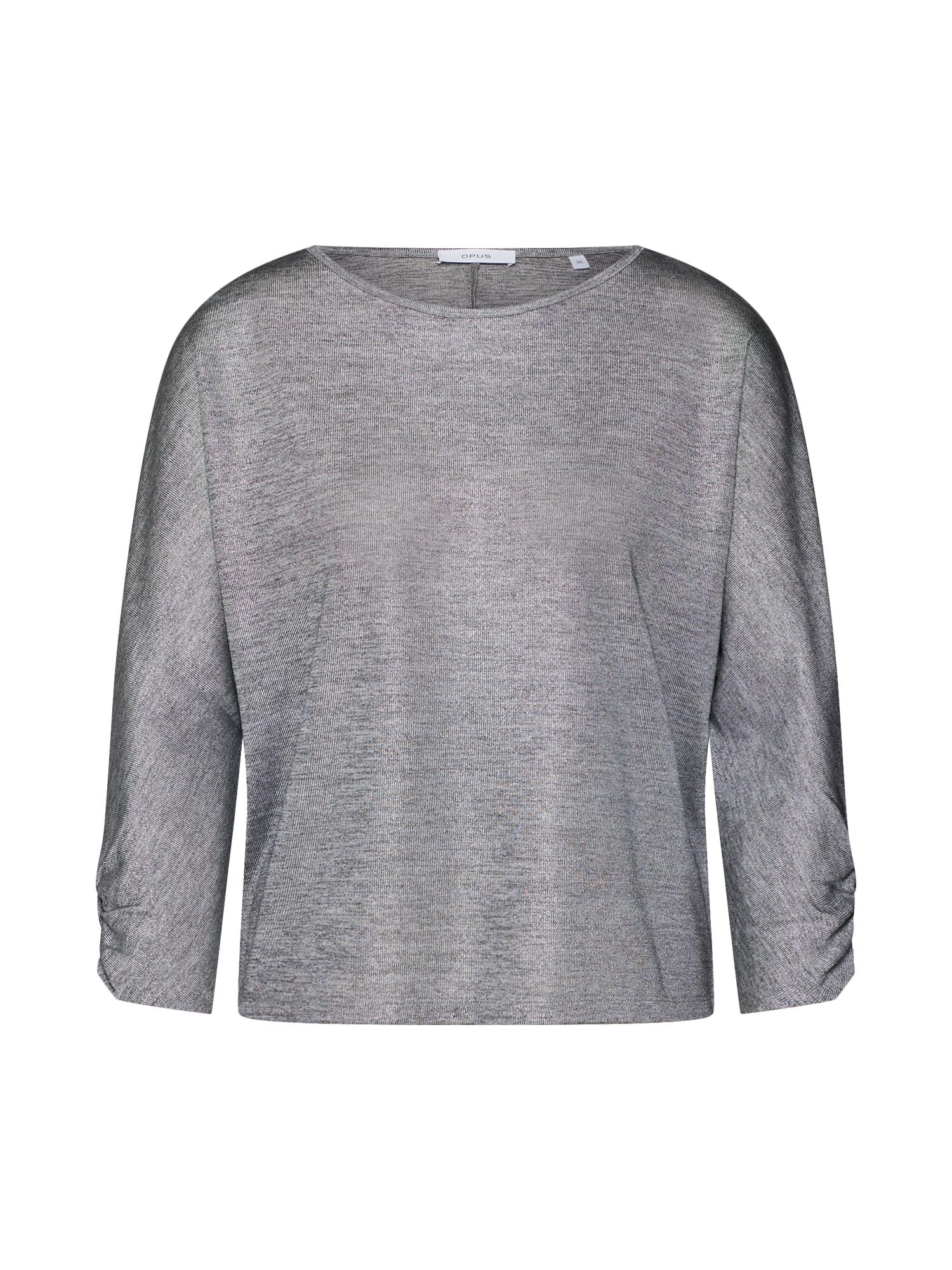 OPUS Marškinėliai 'Sollie' margai pilka