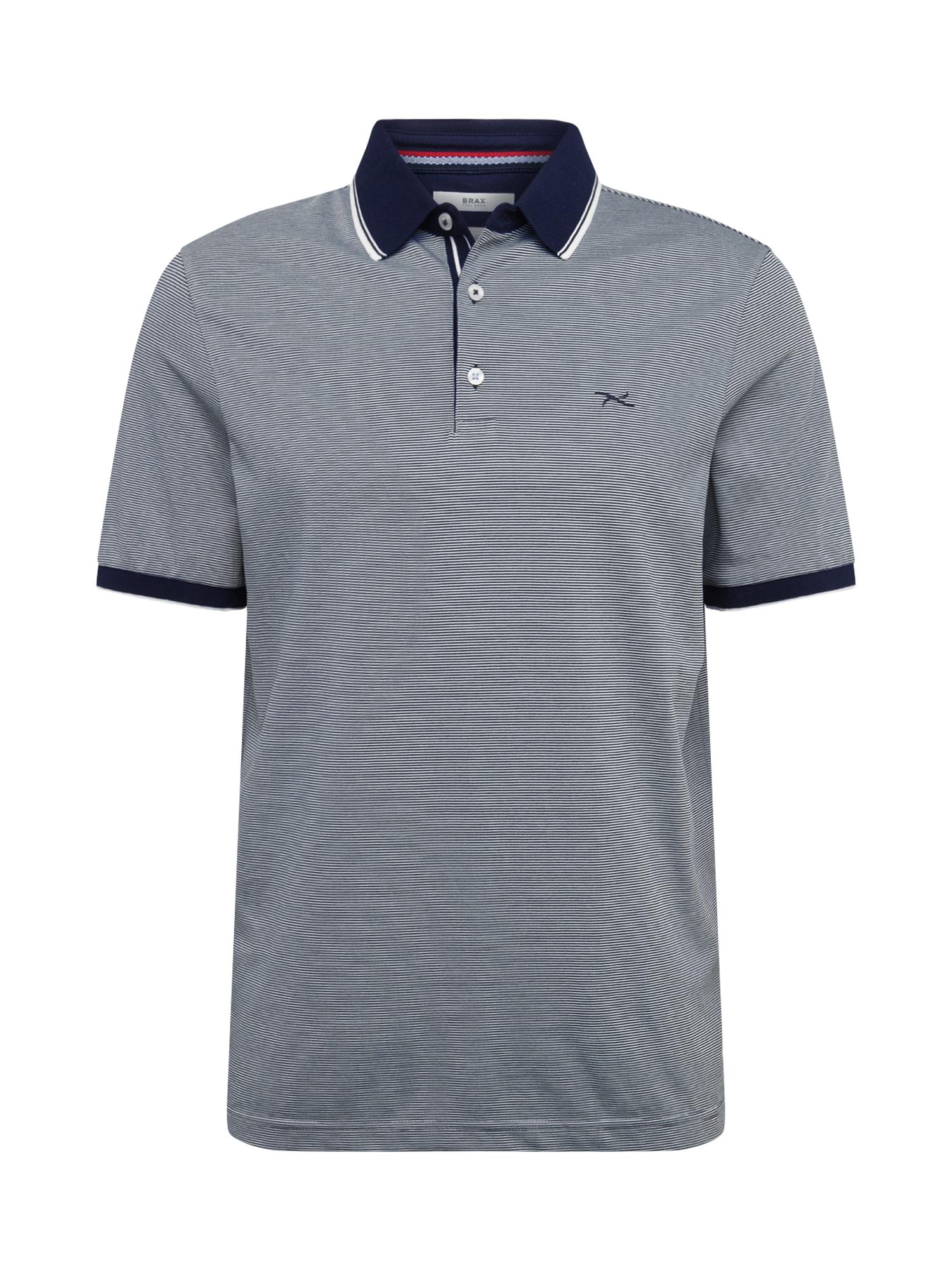 BRAX Marškinėliai 'Paco' tamsiai mėlyna / balta / raudona