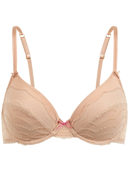 Waesche für Frauen - PALMERS Bügel BH 'Romantic Dream' apricot  - Onlineshop ABOUT YOU
