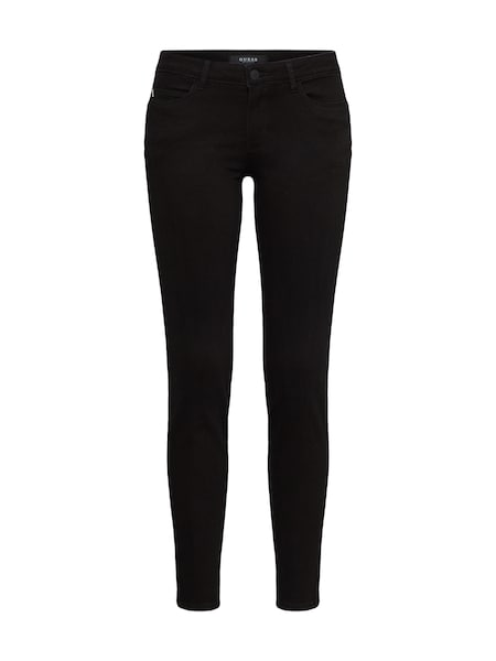 Hosen für Frauen - GUESS Jeans 'CURVE X' black denim  - Onlineshop ABOUT YOU