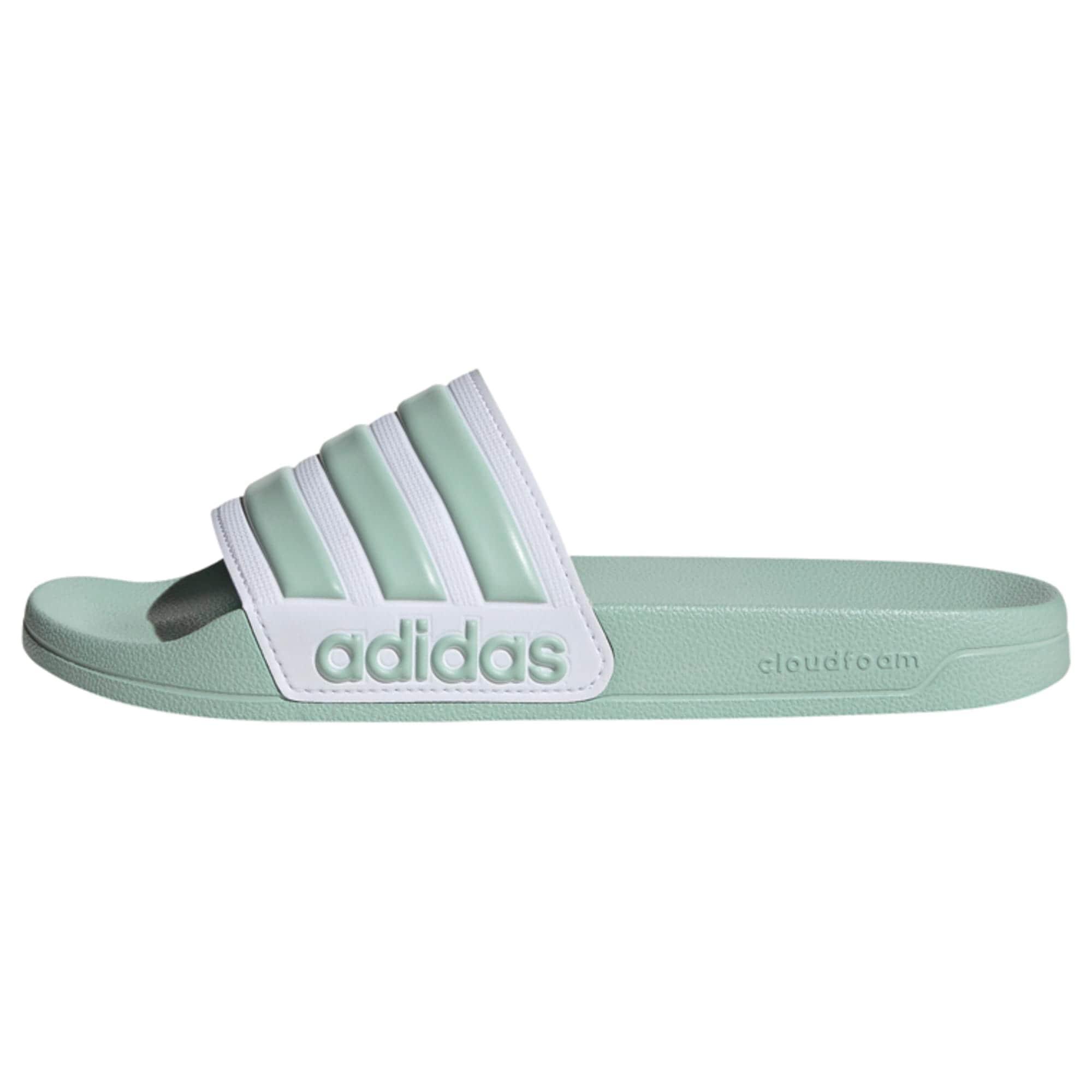 ADIDAS PERFORMANCE Plážové / kúpacie topánky  mätová / biela