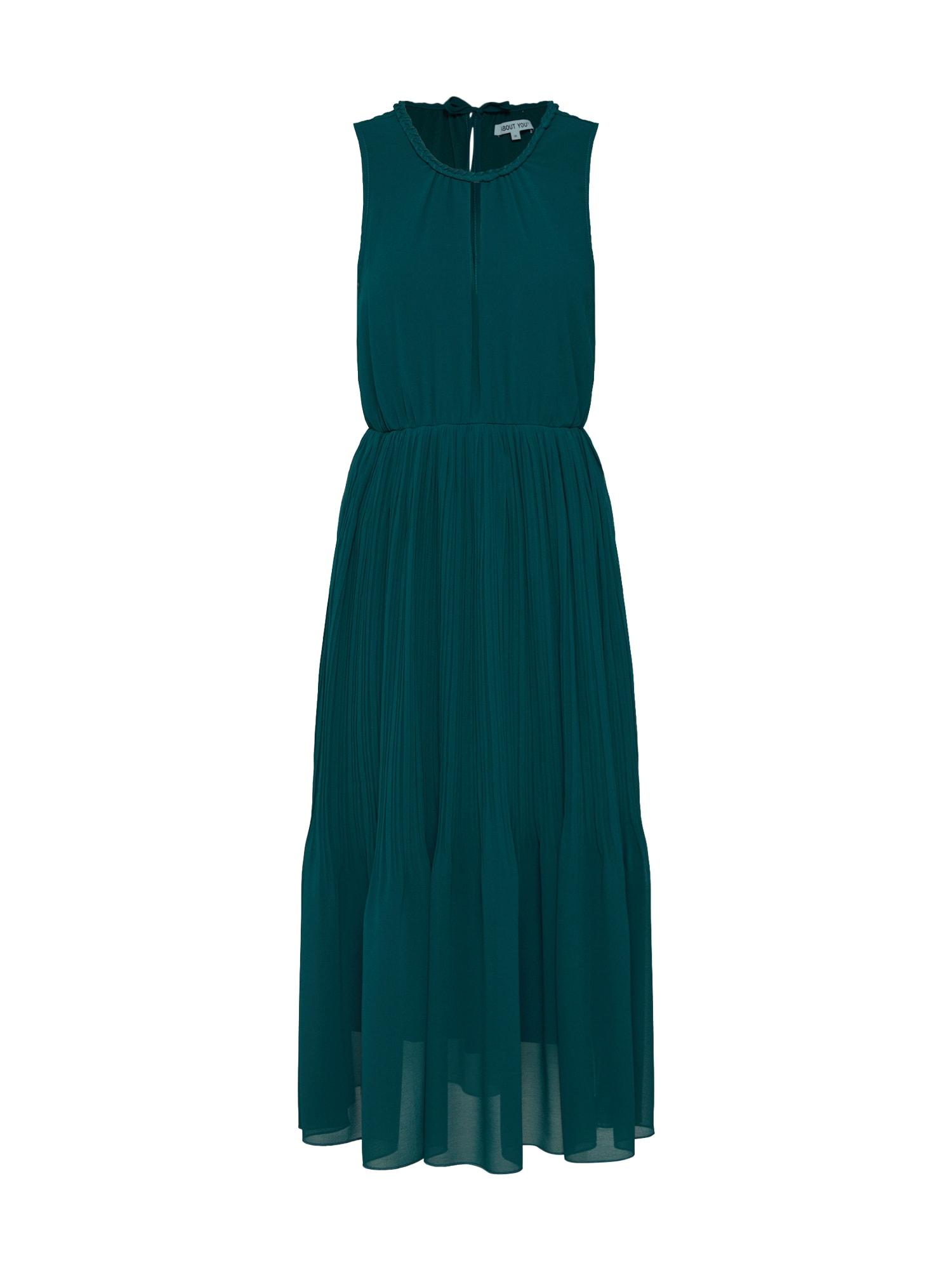 ABOUT YOU Suknelė 'Paola' tamsiai žalia