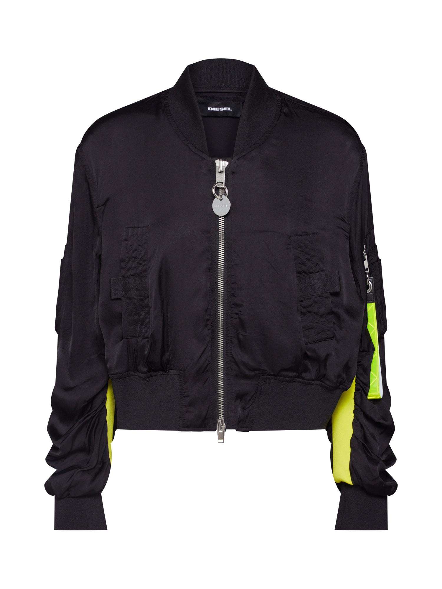 Přechodná bunda G-KINSLEE-A černá DIESEL