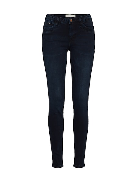 Hosen für Frauen - TOM TAILOR DENIM Jeans 'Nela' dunkelblau  - Onlineshop ABOUT YOU