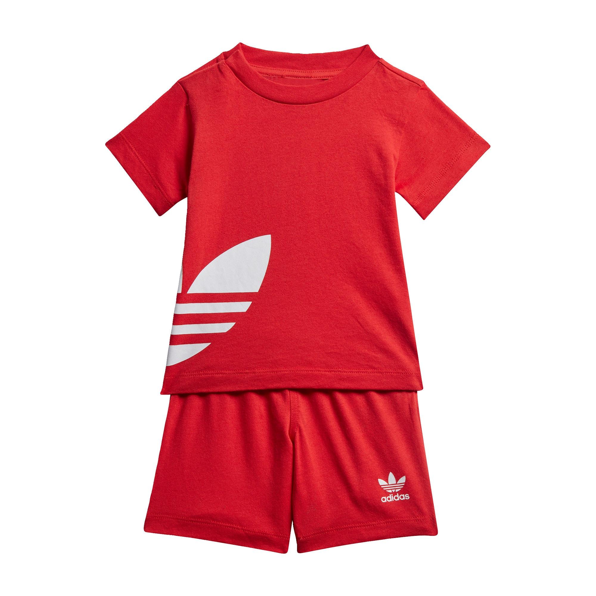 ADIDAS ORIGINALS Oblek  červené / biela
