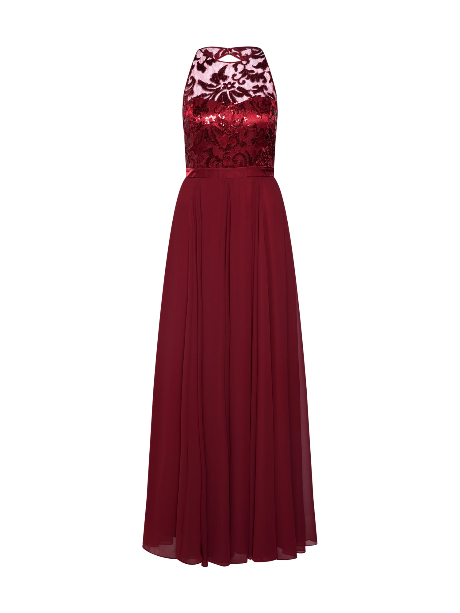 VM Vera Mont Vakarinė suknelė burgundiško vyno spalva