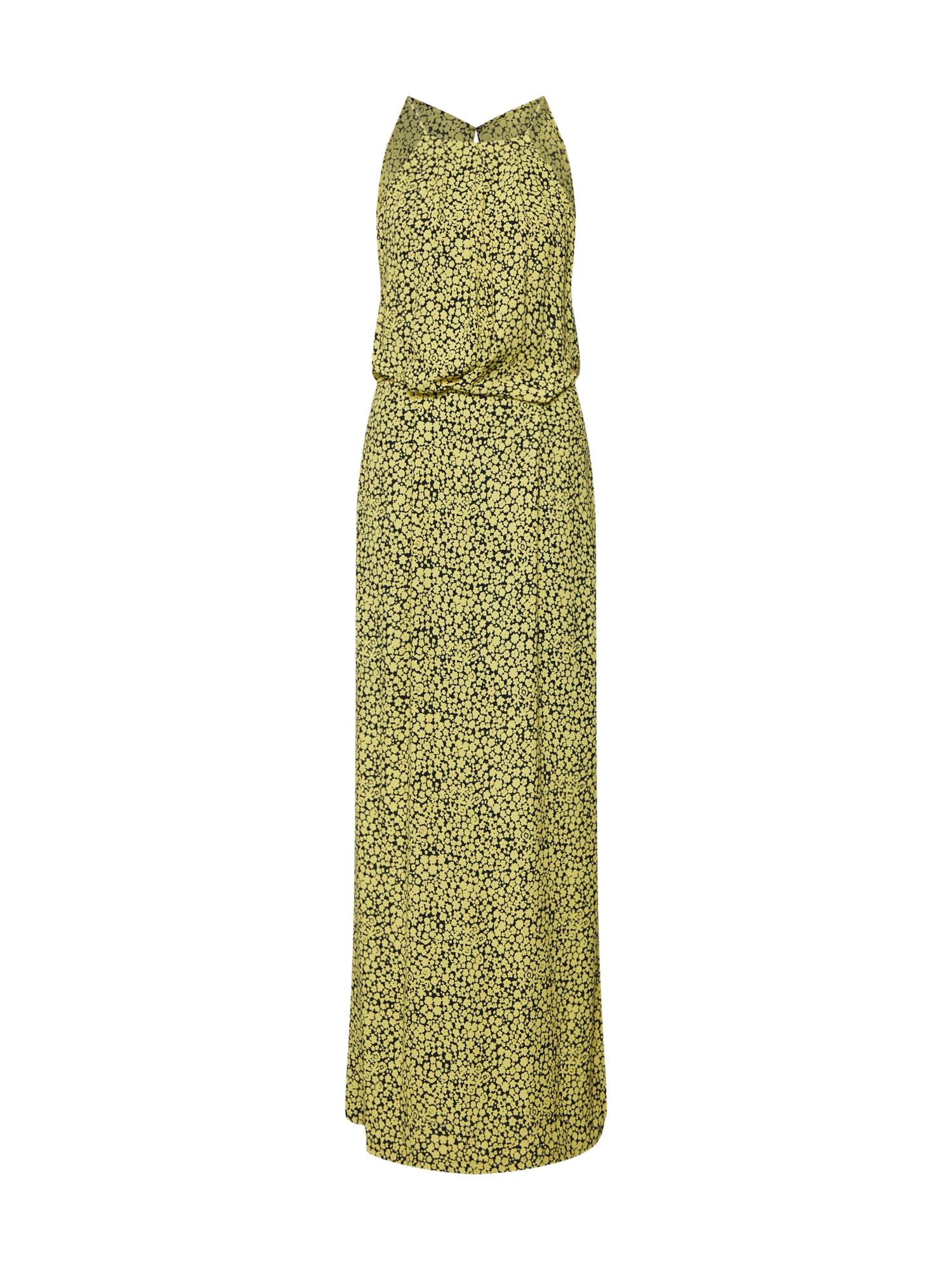 Letní šaty Willow nl l dress aop 5687 žlutá Samsoe & Samsoe