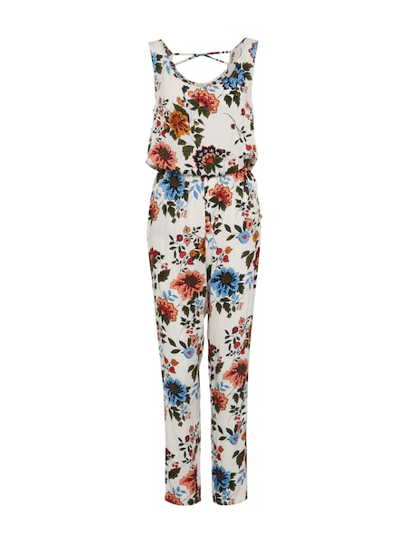 Hosen für Frauen - TOM TAILOR DENIM Jumpsuit mischfarben offwhite  - Onlineshop ABOUT YOU
