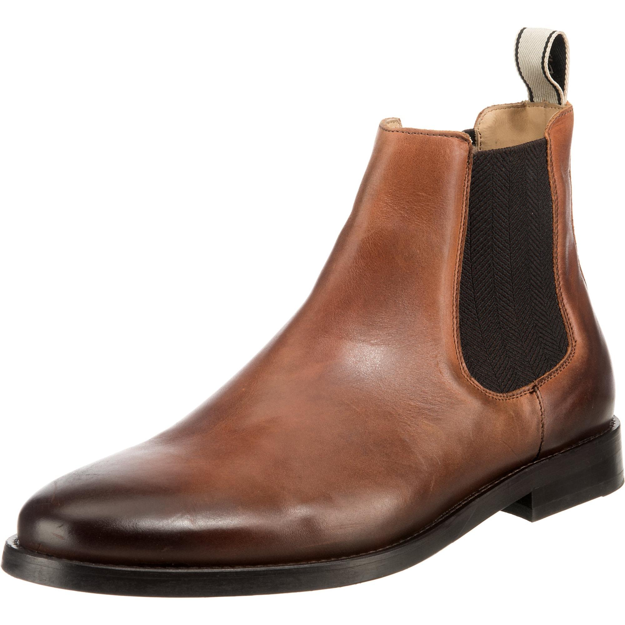 GANT Chelsea batai 'Max' juoda / ruda