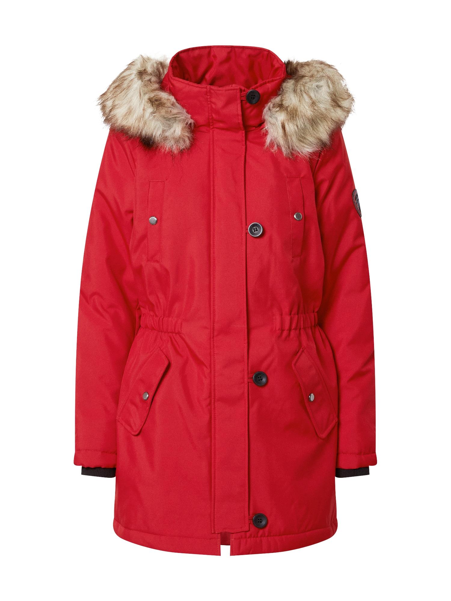 ONLY Zimní parka 'IRIS'  červená