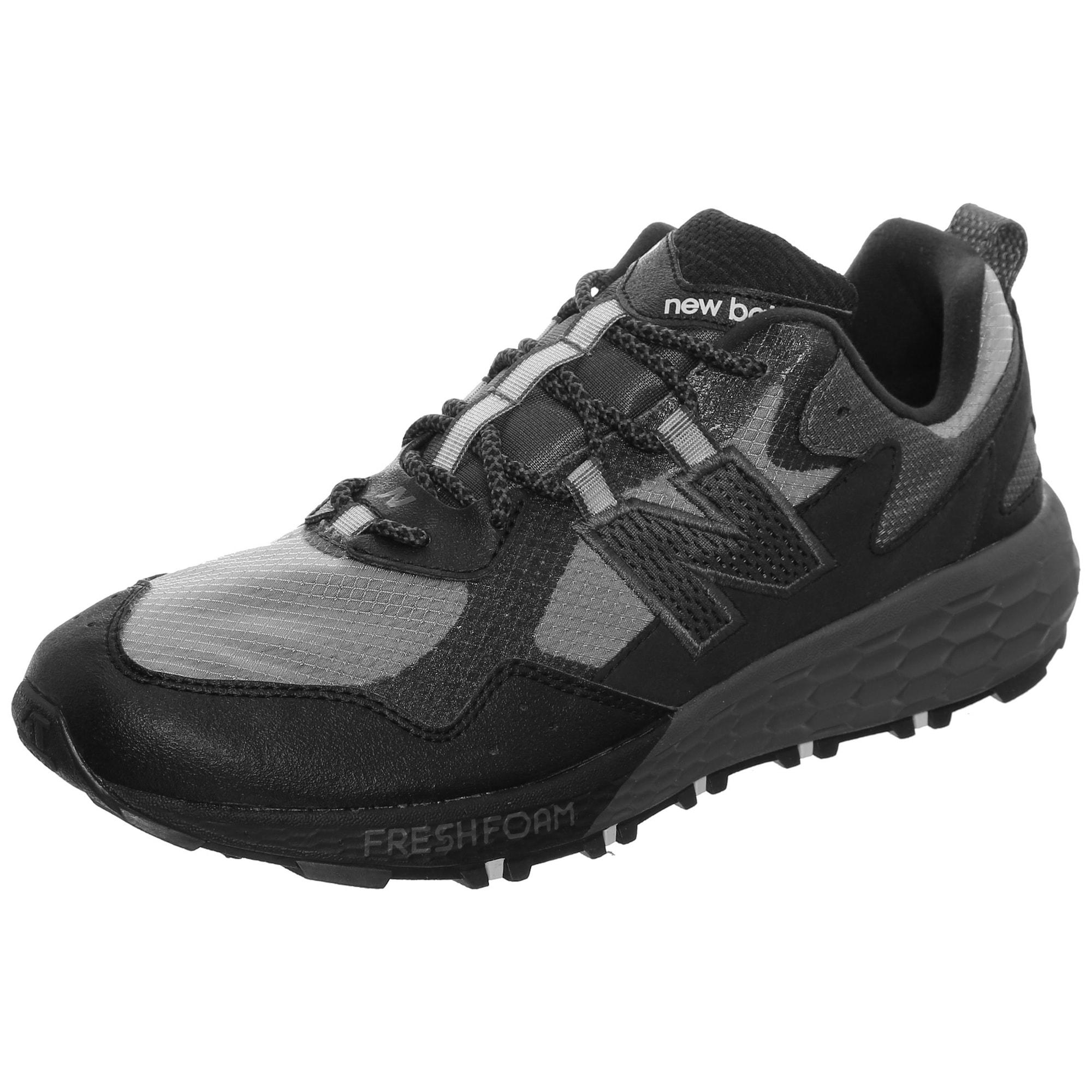 new balance Bėgimo batai 'Crag Trail' juoda / pilka
