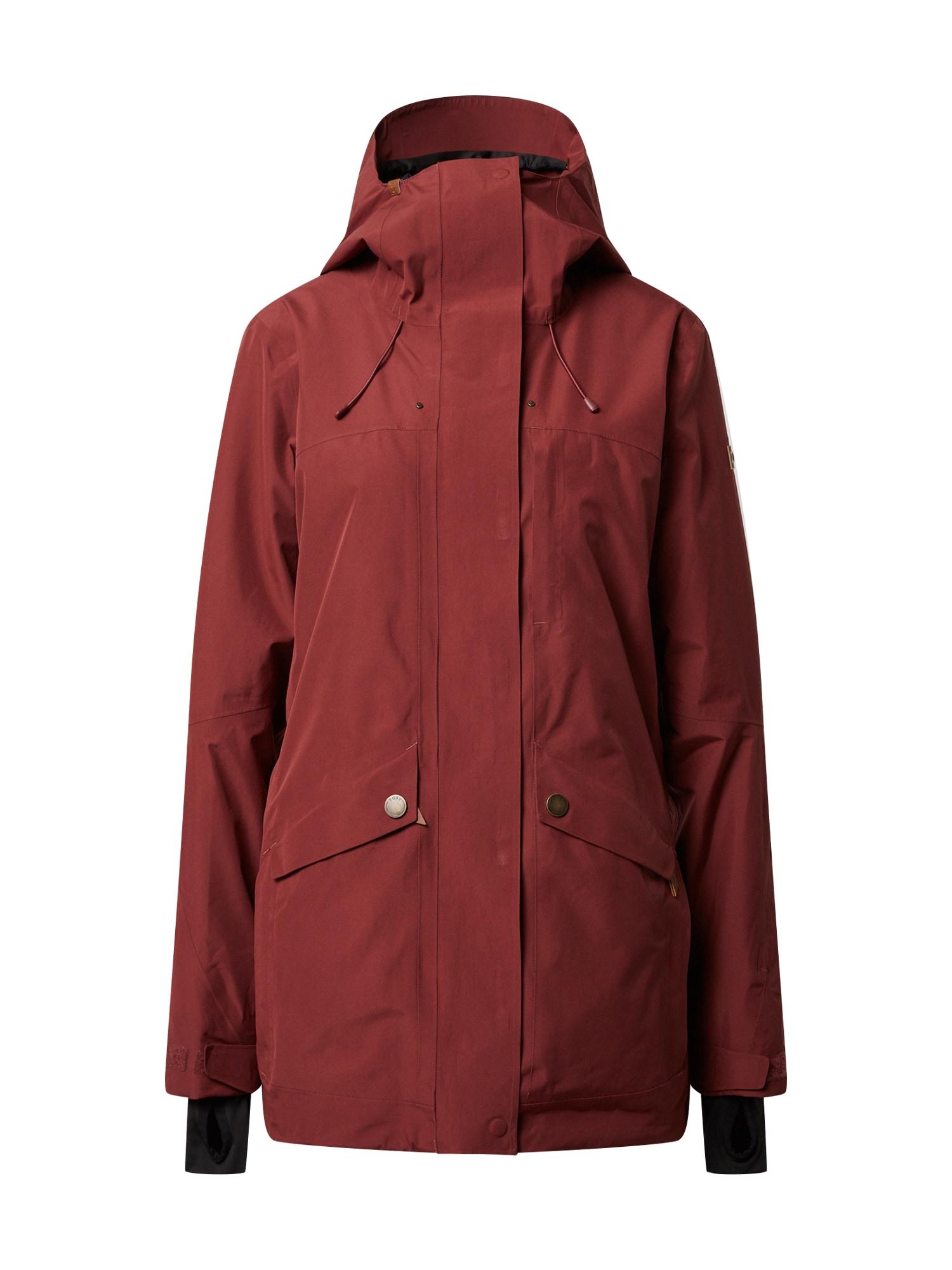 ROXY Outdoorová bunda 'GLADE'  vínově červená