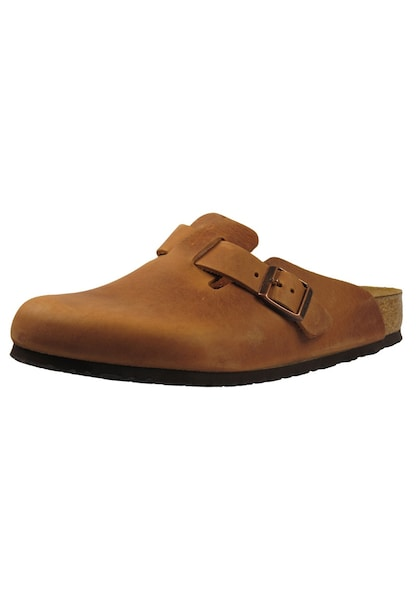 Clogs für Frauen - BIRKENSTOCK Clogs Boston braun  - Onlineshop ABOUT YOU