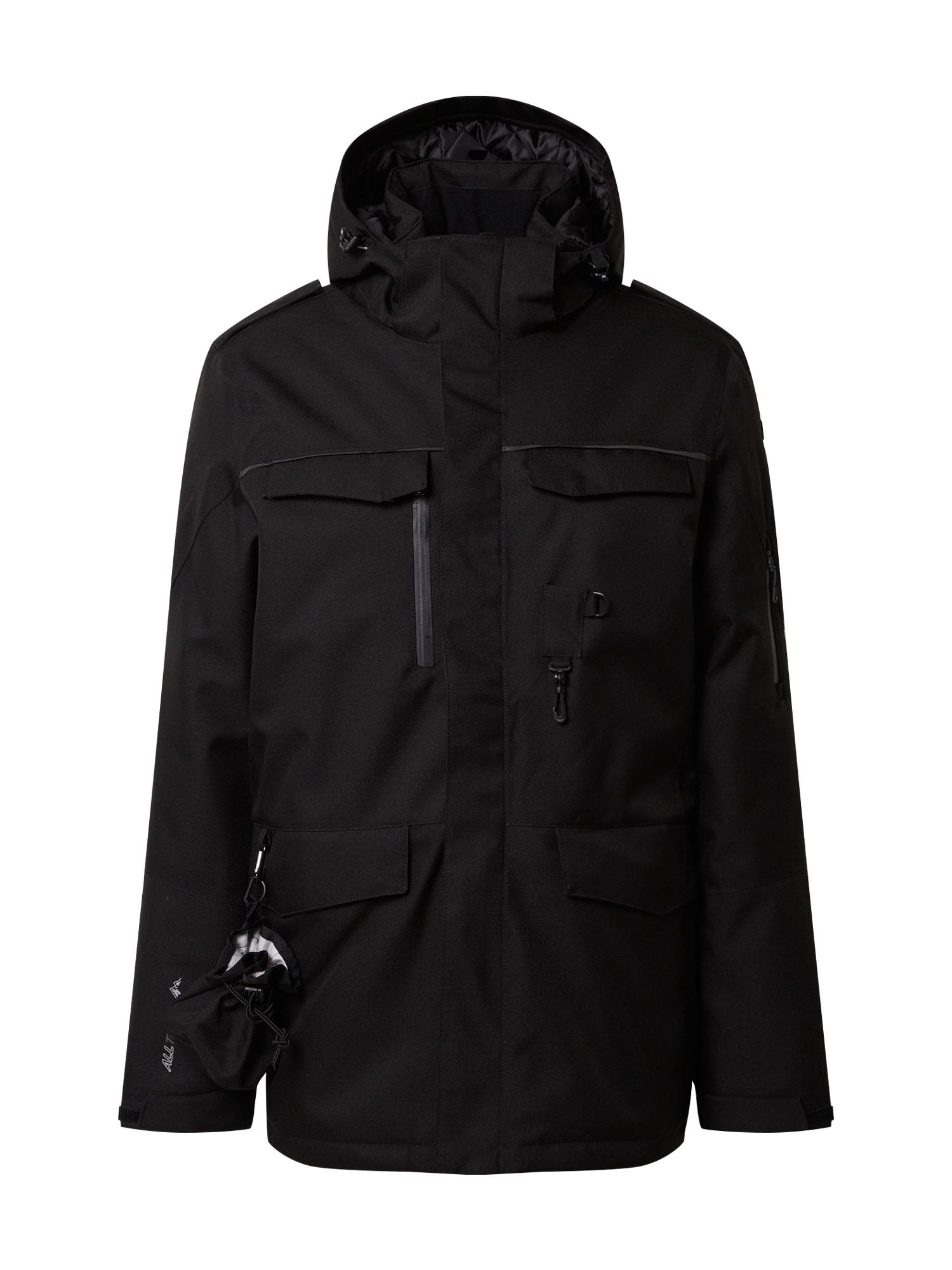 KILLTEC Funkčná bunda 'Ostfold'  čierna