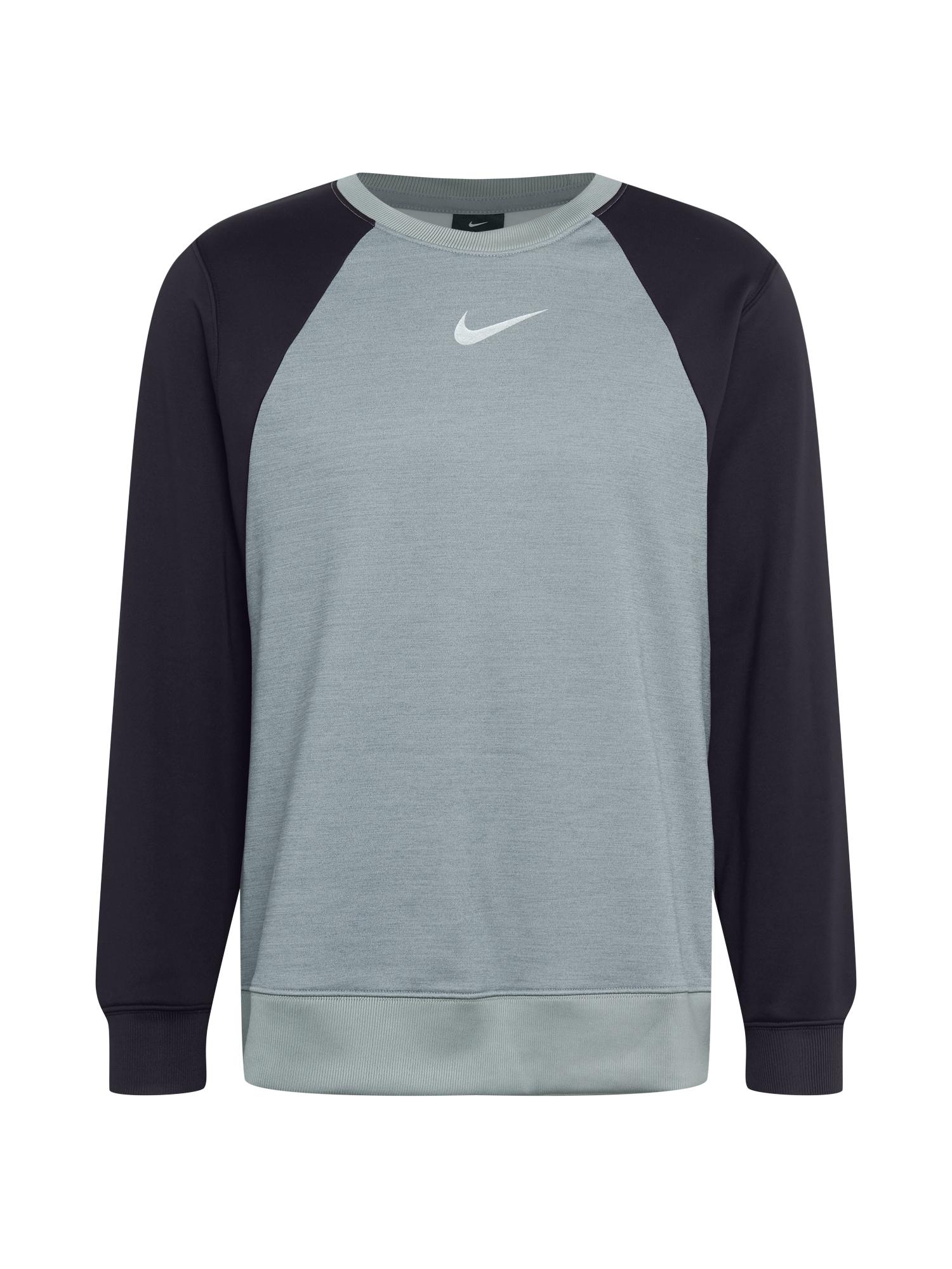 NIKE Sportinio tipo megztinis pilka / juoda