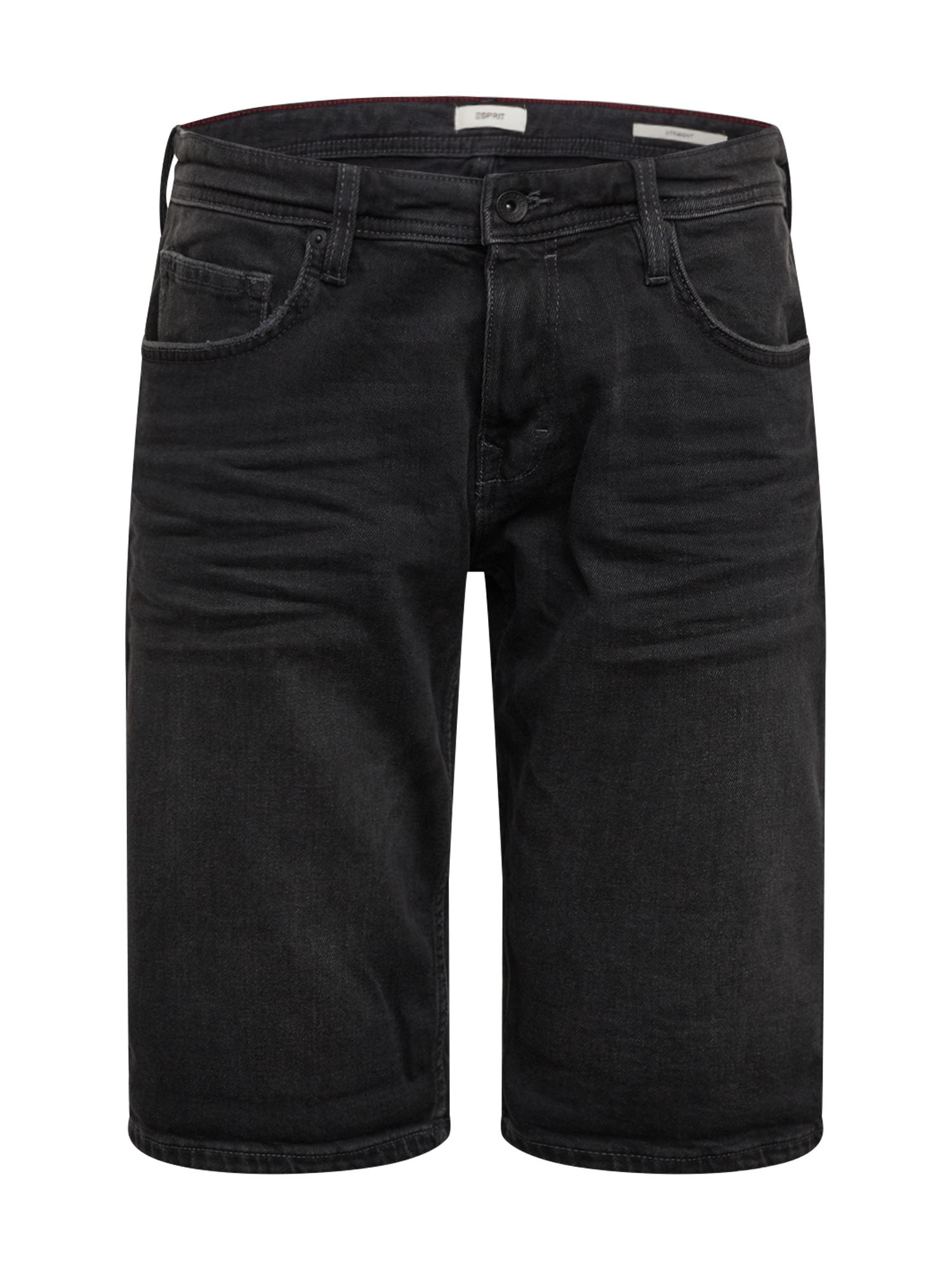 ESPRIT Džinsai 'OCS DNM' juodo džinso spalva