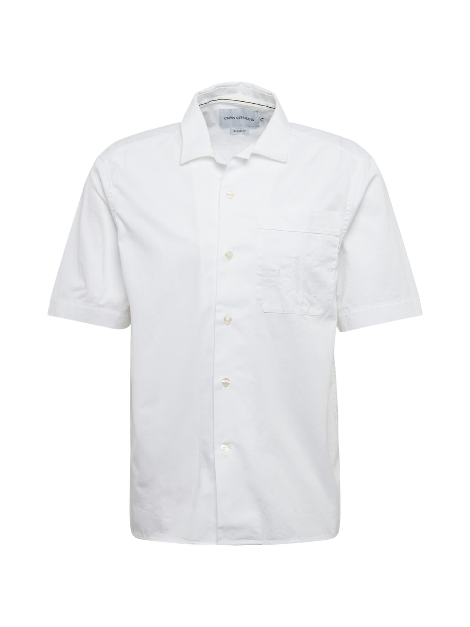 Calvin Klein Jeans Dalykiniai marškiniai balta