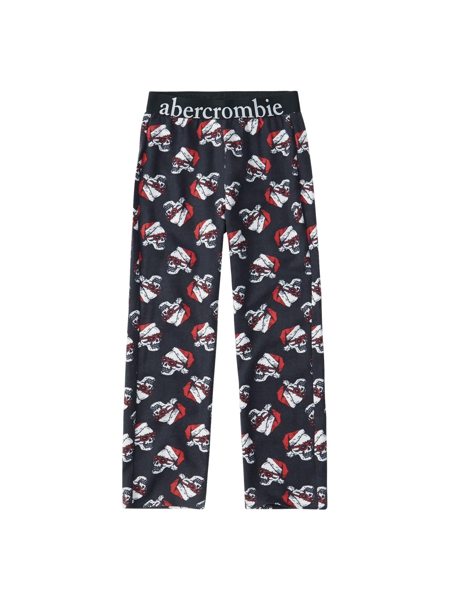 Pyžamo XM18-PERSONALITY SLEEP PANTS námořnická modř Abercrombie & Fitch