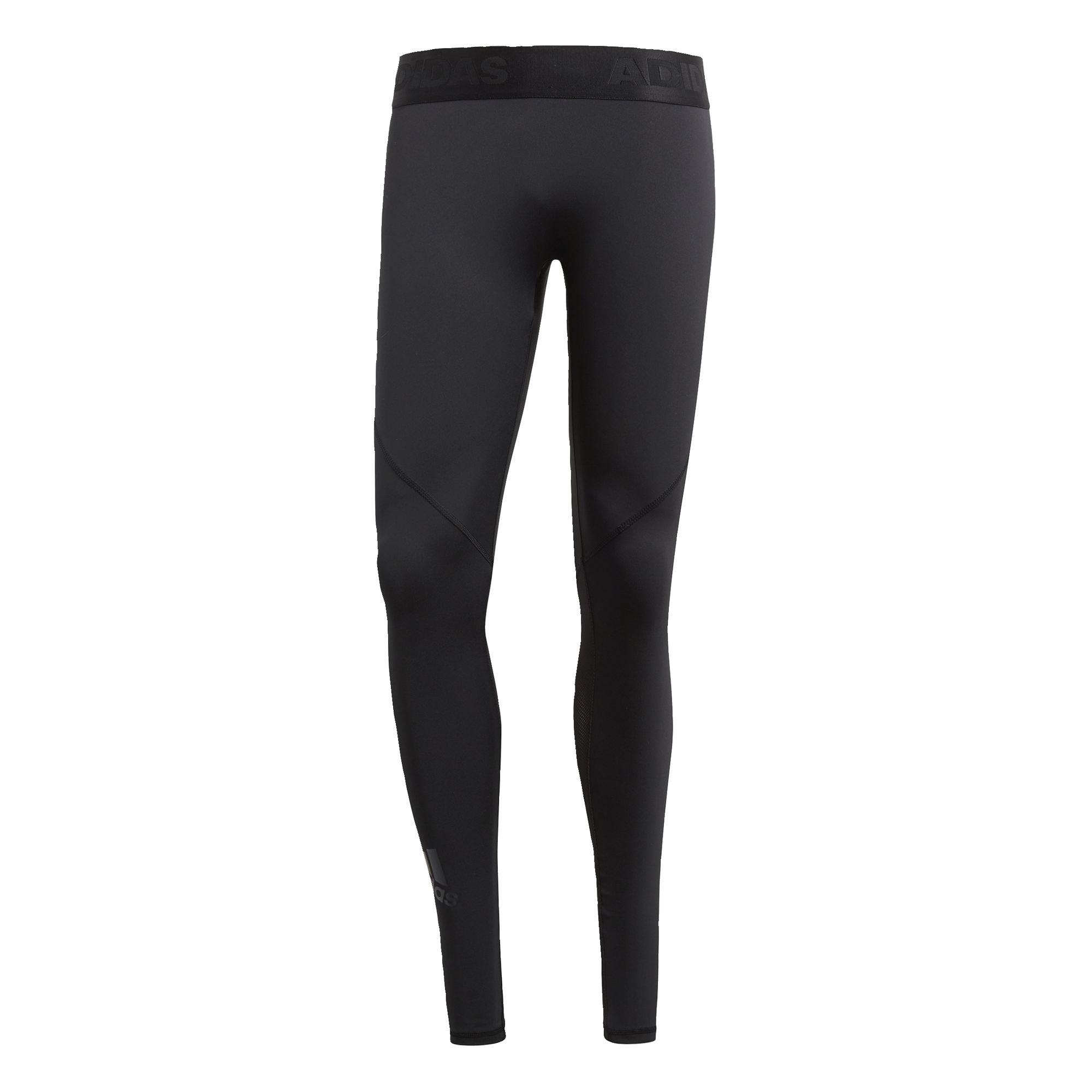 ADIDAS PERFORMANCE Sportovní kalhoty 'Alphaskin'  černá
