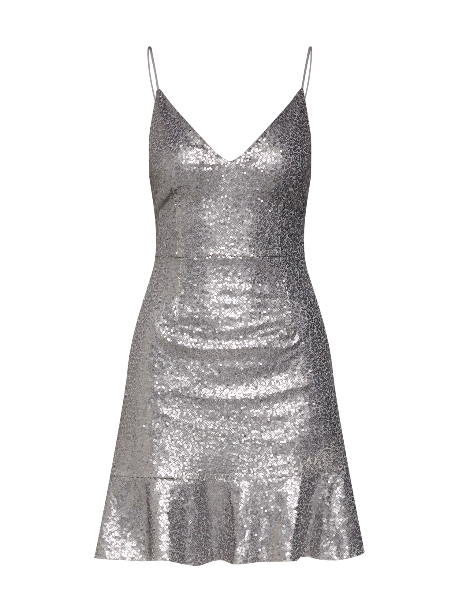 Koktejlové šaty Rachel stříbrně šedá MICHALSKY FOR ABOUT YOU