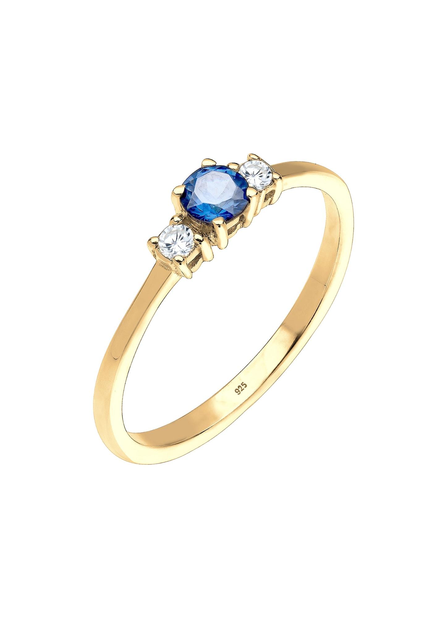 ELLI Žiedas safyro / auksas