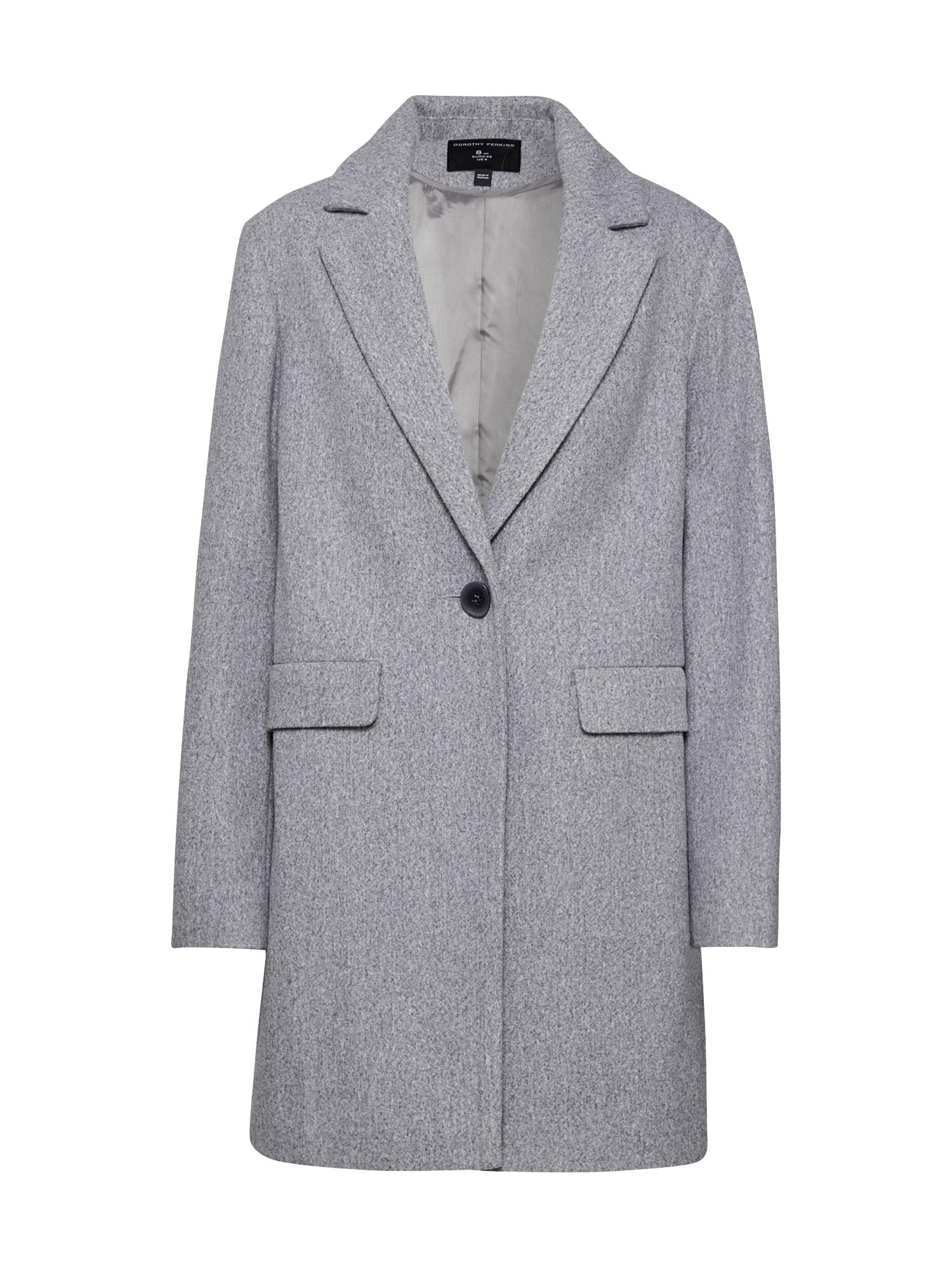Dorothy Perkins Rudeninis-žieminis paltas 'MINIMAL' pilka