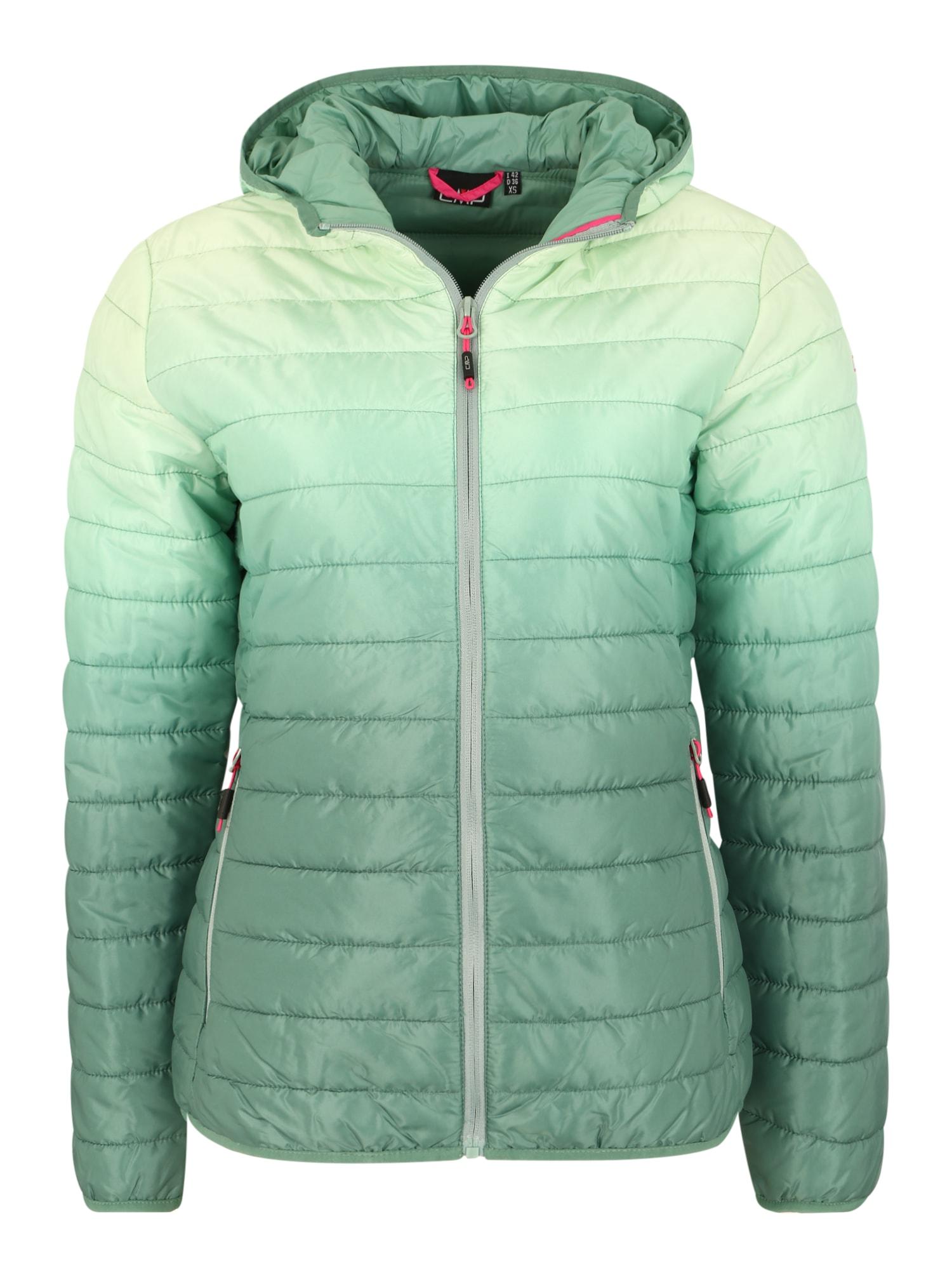 CMP Laisvalaikio striukė pastelinė žalia / smaragdinė spalva / žolės žalia